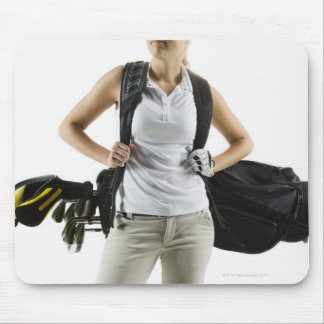 A golfer 2 mouse pad