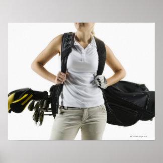 A golfer 2 poster