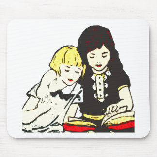 A Good Book Mouse Pad