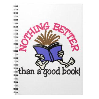 A Good Book Note Book