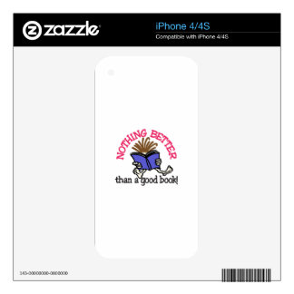A Good Book Skin For The iPhone 4
