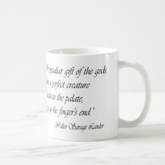 A Good Cook is a Peculiar Gift of the Gods Mugs