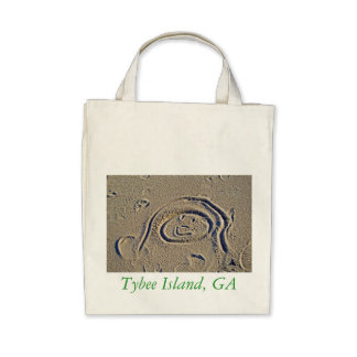 A Good Day at the Beach Tybee Island GA Bag