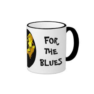 A GOOD DAY FOR THE BLUES Sax Ringer Ceramic Mug