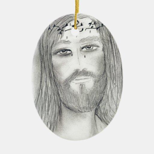 A Good Jesus Ceramic Ornament