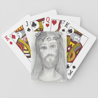 A Good Jesus Playing Cards