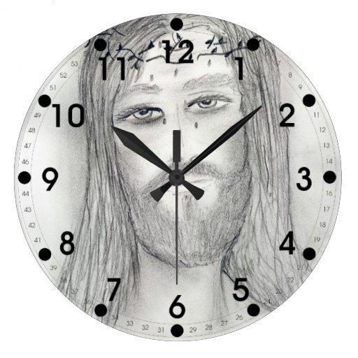 A Good Jesus Round Wall Clocks