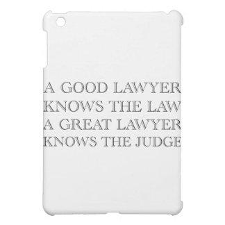 A Good Lawyer iPad Mini Case
