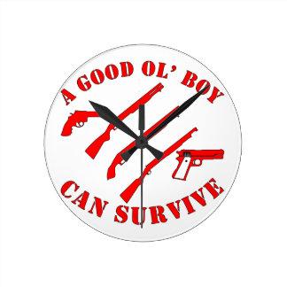 A Good Ol' Boy Can Survive Round Clock