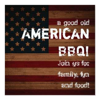 A good old American BBQ! Card