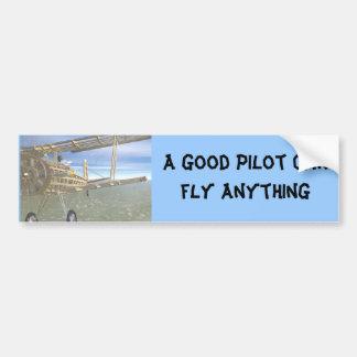A good pilot bumper sticker