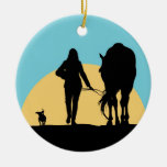 A Good Ride Christmas Tree Ornaments