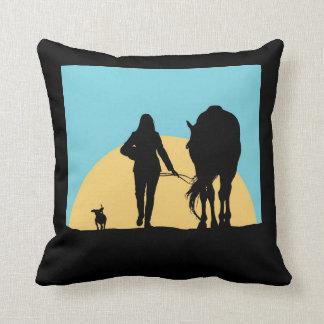 A Good Ride Pillows