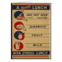 A Good School Lunch