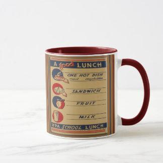 A Good School Lunch Mug