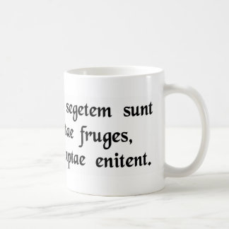 A good seed, planted even in poor soil, will...... mugs
