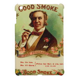 A good Smoke for the sophisticated gentleman Cover For The iPad Mini