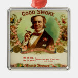 A good Smoke for the sophisticated gentleman Christmas Tree Ornament