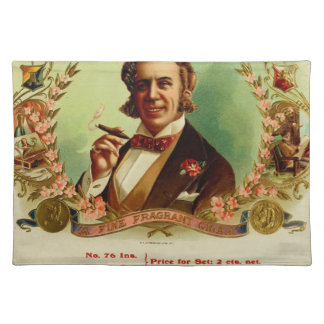 A good Smoke for the sophisticated gentleman Placemats