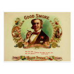 A good Smoke for the sophisticated gentleman Post Cards