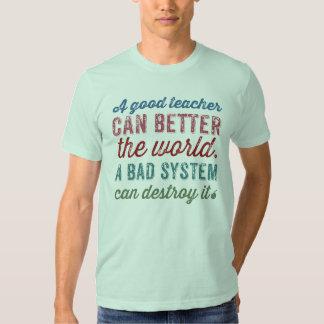 A Good Teacher T Shirts