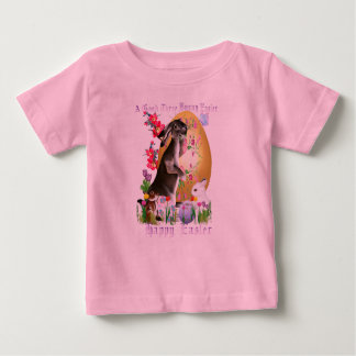 A Good Three Bunny Easter Baby T-Shirt