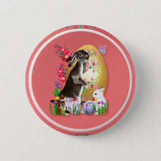 A Good Three Bunny Easter Buttons