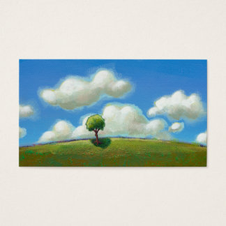 A Good Time to Start - Landscape painting CUSTOM Business Card