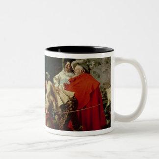 A Good Vintage Two-Tone Coffee Mug