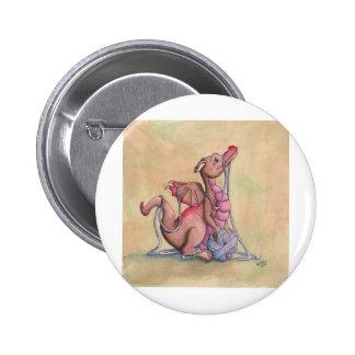 A Good Yarn 2 Inch Round Button