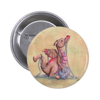 A Good Yarn Pinback Button