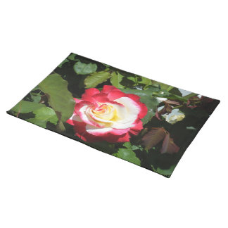 A Gorgeous Balboa Island Red Tipped Rose! Placemat