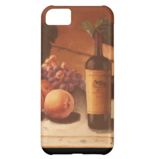 A gorgeous painting of assorted fruits & wine. case for iPhone 5C