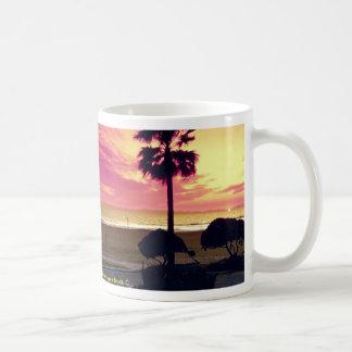 A gorgeous sunset at the pier, Huntington Beach, C Mugs