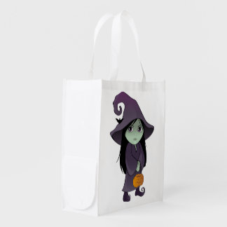 A Goth Witch Grocery Bag