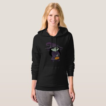 Halloween Themed A Goth Witch Hoodie