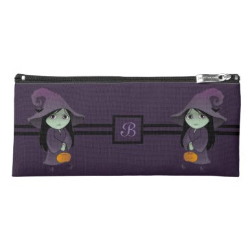 Halloween Themed A Goth Witch Pencil Case