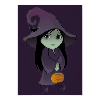 A Goth Witch Poster