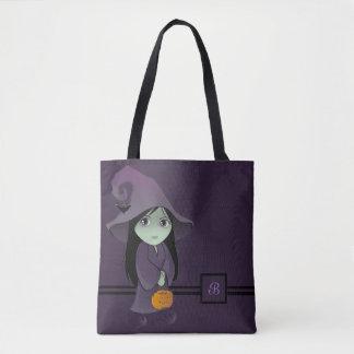 A Goth Witch Tote Bag