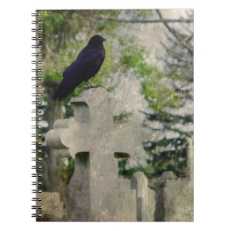 A Gothic Day Spiral Notebook