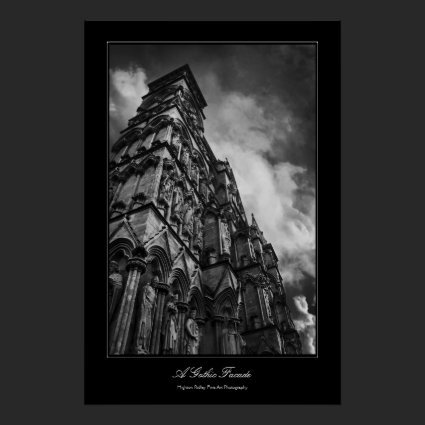 A Gothic Facade, Fine Art gallery-style Print