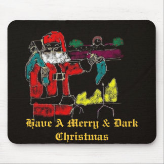 A Gothic-Like Merry Christmas Mouse Pad