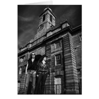 A Gothic Melodrama blank notelet / card