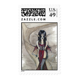 A gothic remedy postage stamps