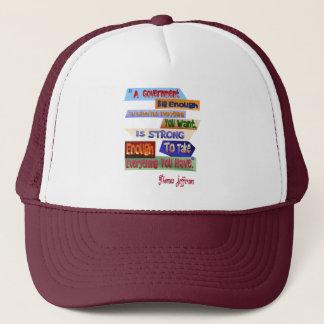 A Government Big Enough Hat