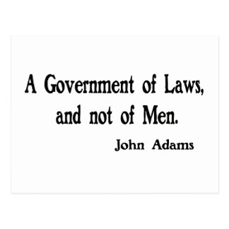A Government of Laws Postcards
