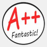 A++ Grade Sticker