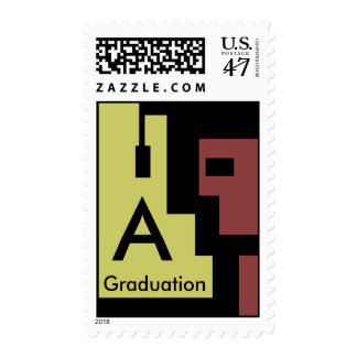 A Graduation STAMP Mailing Announcements Invites
