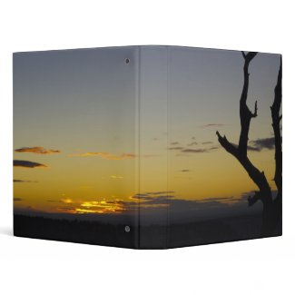 A Grand Canyon Sunset Vinyl Binder