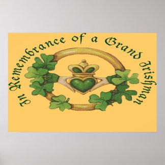 A Grand Irishman Posters
